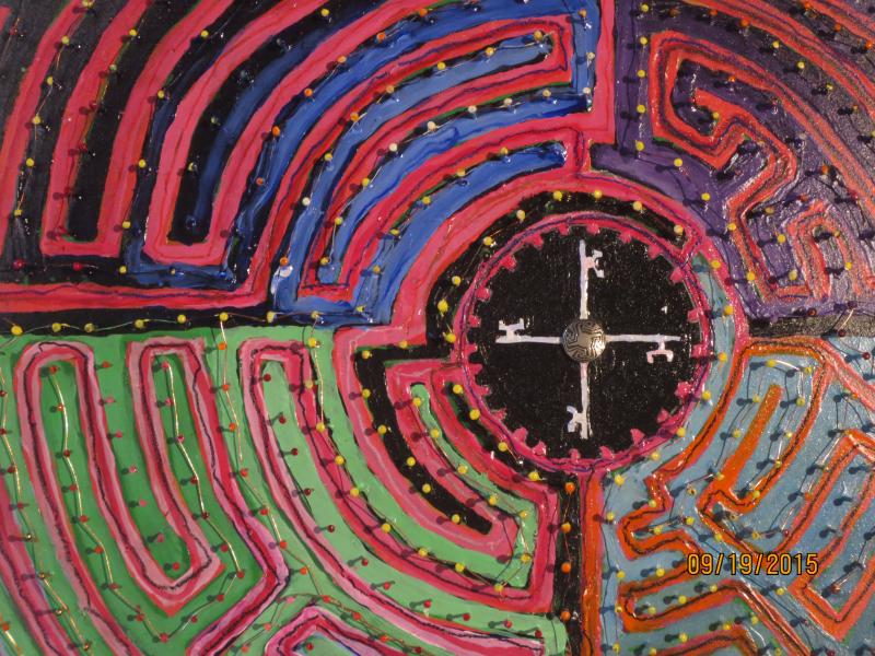 A Maze (detail)  ADAMS